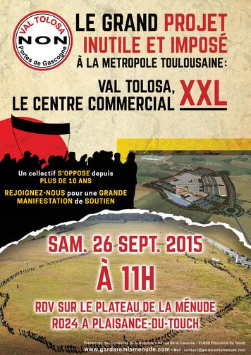 Val tolosa samedi 26 sept manif visite du chantier - Centre commercial colomiers ...