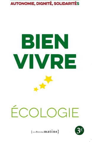 """""""Bien Vivre"""", le programme 2017 d'EELV"""